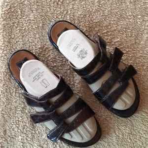 Brown Slides by Clarks